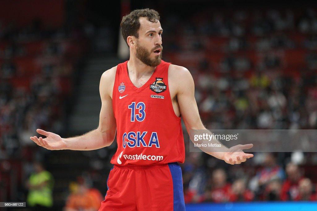 689bec94af5 Third Place Game CSKA Moscow v Zalgiris Kaunas - 2018 Turkish Airlines  EuroLeague F4 : News