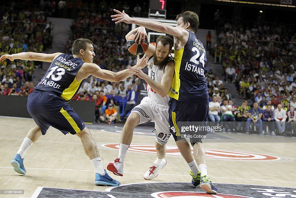 Turkish Airlines Euroleague Final Four Madrid 2015 - Semifinal A: Real Madrid v Fenerbahce Ulker Istanbul : News Photo