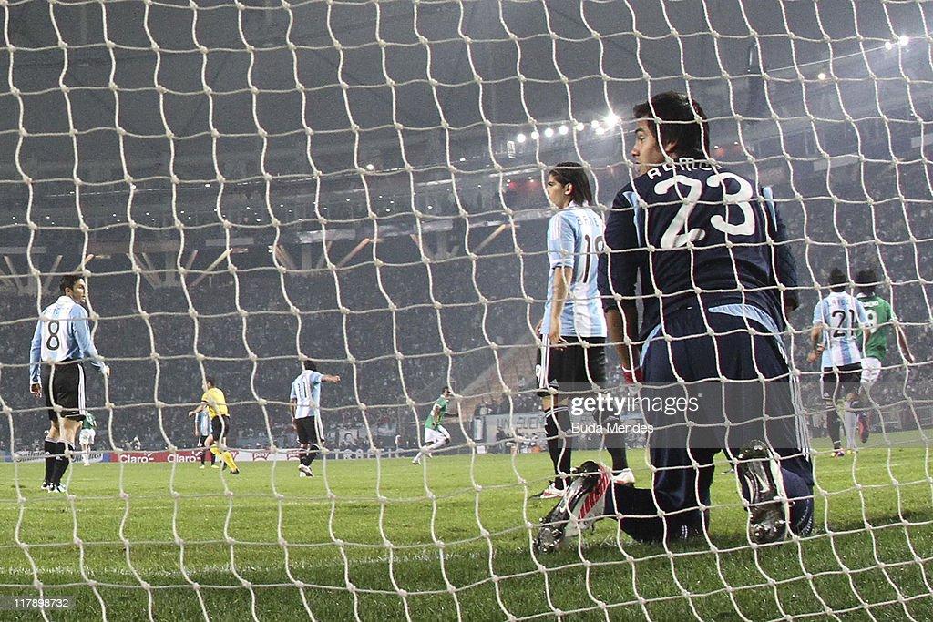 FOI: Argentina v Bolivia -Group A Copa America 2011