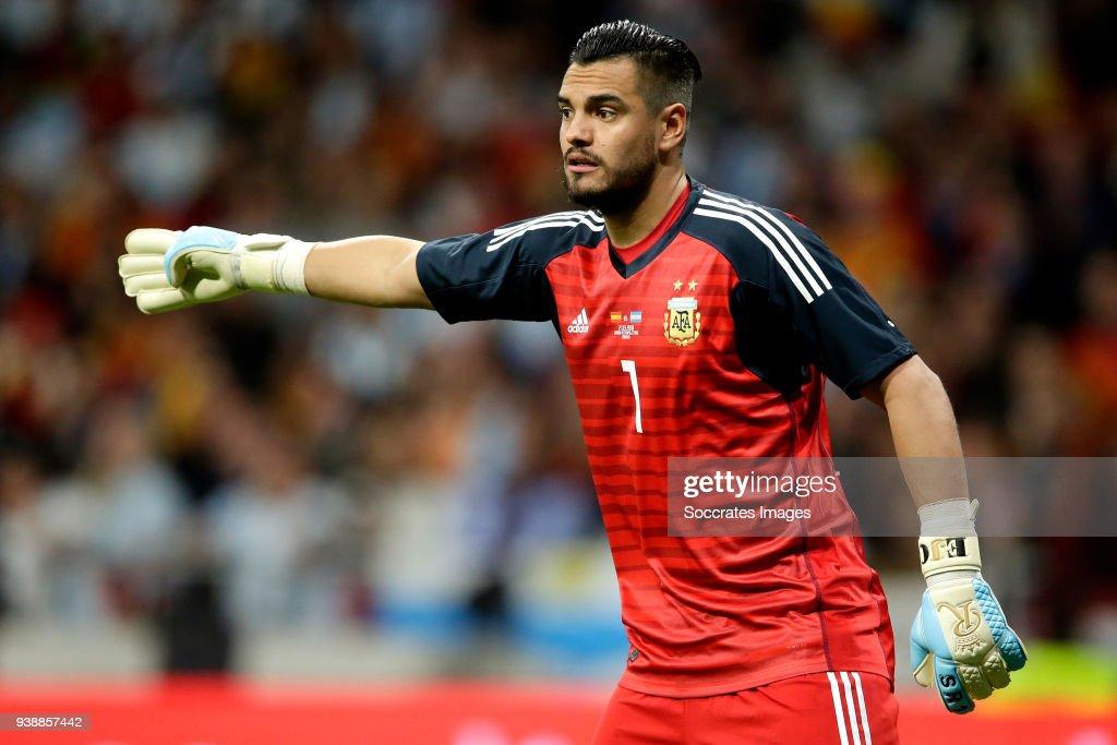 Spain  v Argentina  -International Friendly : News Photo