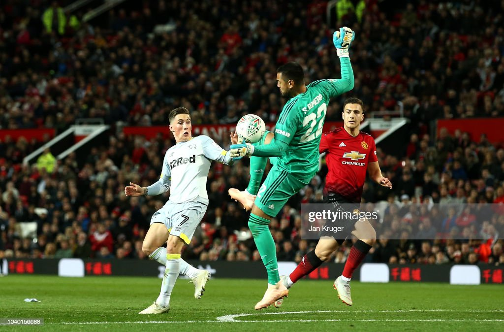 Manchester United v Derby County - Carabao Cup Third Round : News Photo