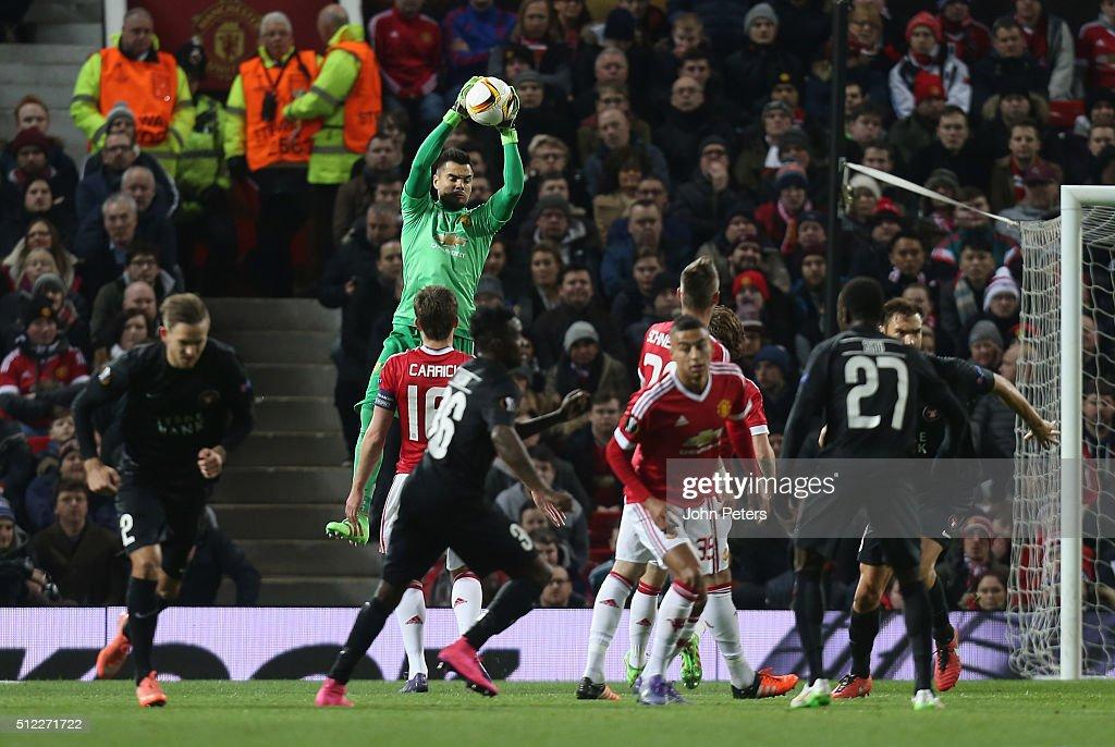 Manchester United v FC Midtjylland - UEFA Europa League Round of 32: Second Leg : ニュース写真