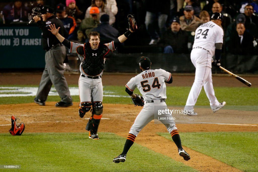World Series - San Francisco Giants v Detroit Tigers - Game Four