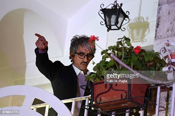 Sergio Rubini performs during Locus Festival 2016 on July 16 2016 in Locorotondo near Bari Italy