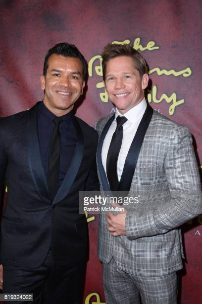 Sergio Trujillo and Jack Noseworthy attend The Opening Night Performance for THE ADDAMS FAMILY at LuntFontanne Theatre on April 8 2010 in New York...