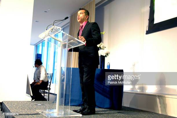 Sergio Trujillo attends STONEWALL COMMUNITY FOUNDATION 2010 VISION DINNER at The VISTA 1 Chase Manhattan Plaza on June 16 2010 in New York City
