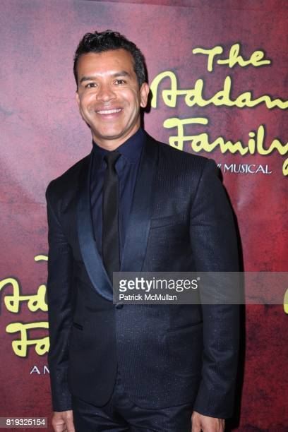 Sergio Trujillo attends The Opening Night Performance for THE ADDAMS FAMILY at LuntFontanne Theatre on April 8 2010 in New York City
