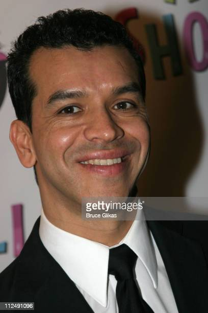 Sergio Trujillo during 'All Shook Up' Opening Night on Broadway at The Palace Theater in New York City New York United States