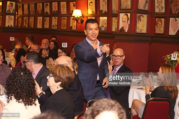 Sergio Trujillo during The 66th Annual Outer Critics Circle Awards Party at Sardi's on May 26 2016 in New York City