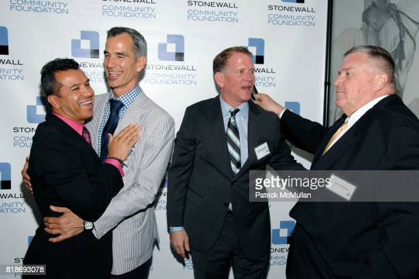 Sergio Trujillo Jerry Mitchell Bill McDermott and David Mixner attend STONEWALL COMMUNITY FOUNDATION 2010 VISION DINNER at The VISTA 1 Chase...