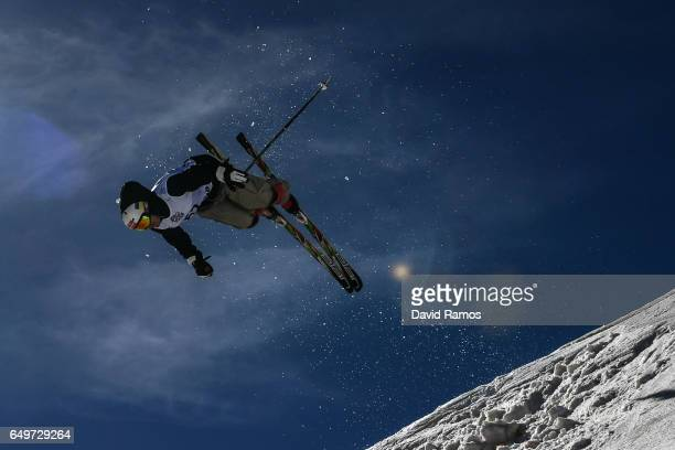 Sergiy Chmel of Ukraine competes in the Men's Moguls qualification on day one of the FIS Freestyle Ski Snowboard World Championships 2017 on March 8...