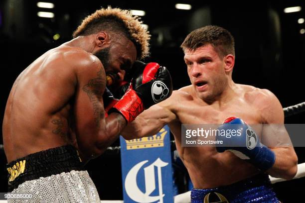 Sergiy Derevyanchenko defeated Dashon Johnson ON MARCH 3 at the Barclays Center in Brooklyn NY