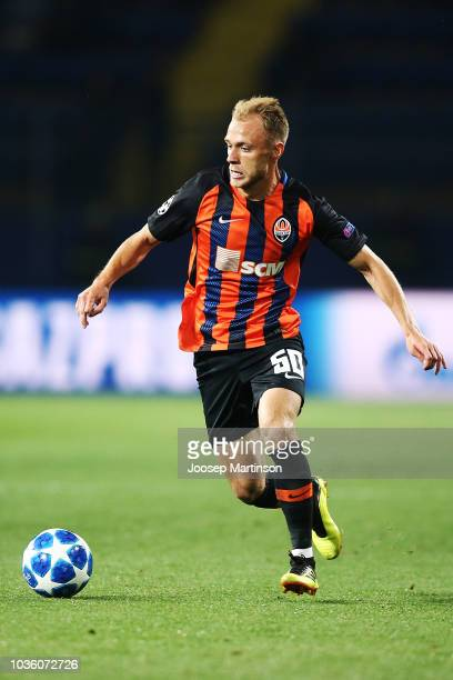 Serhiy Bolbat of Shakhtar Donetsk controls the ball during the Group F match of the UEFA Champions League between FC Shakhtar Donetsk and TSG 1899...