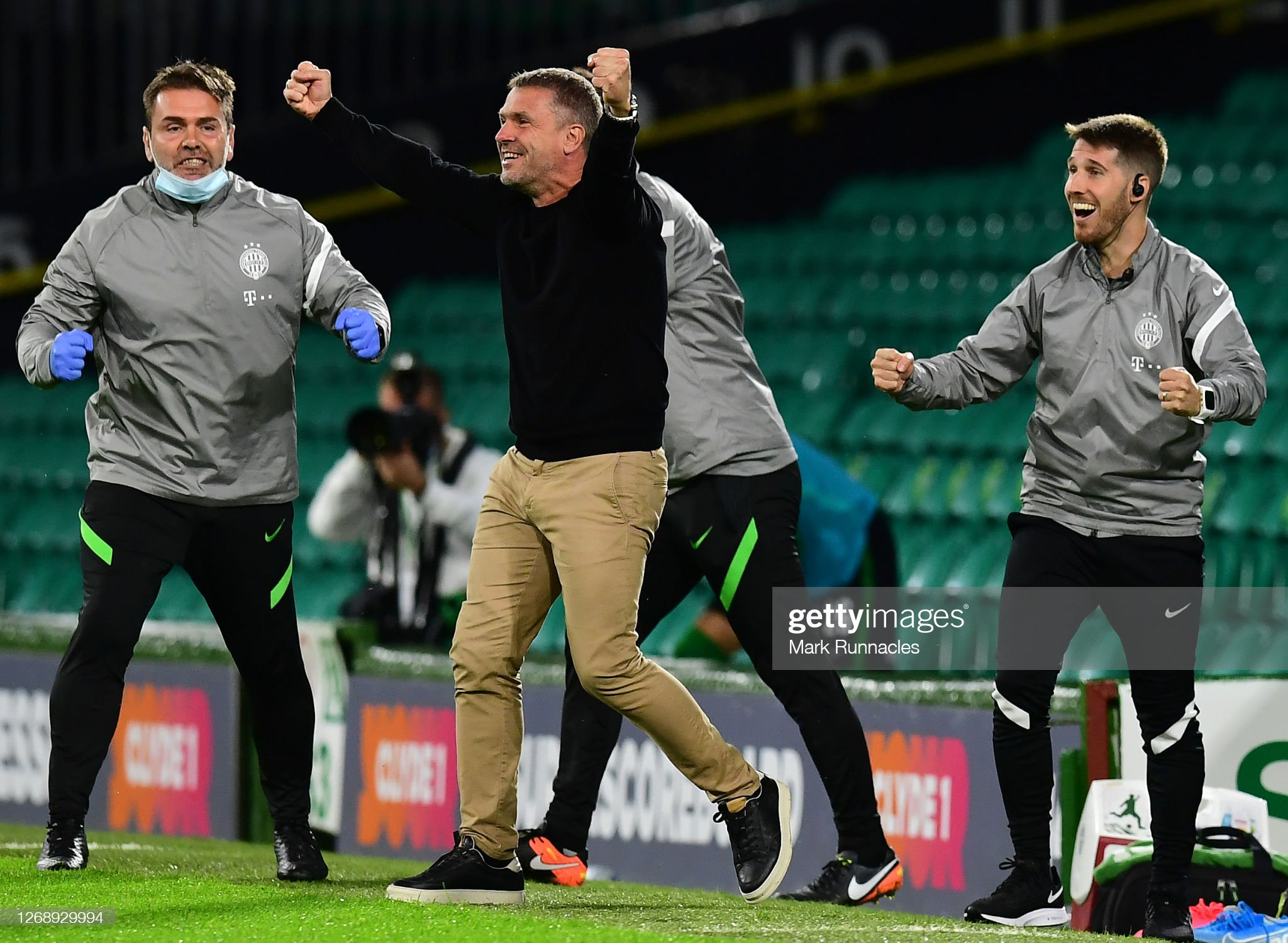 Celtic v Ferencvaros - UEFA Champions League: Second Qualifying Round : News Photo
