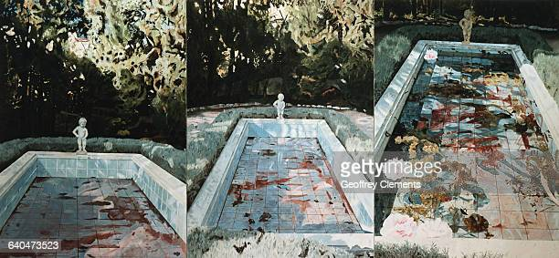 Seriagraph from In the Garden Series by Jennifer Bartlett