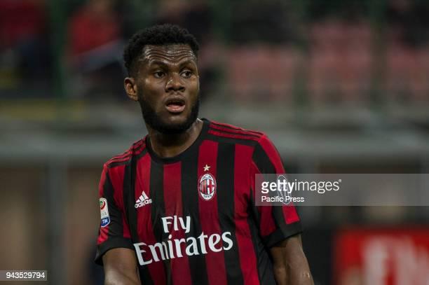 Serie A football AC Milan versus US Sassuolo Franck Kessie of AC Milan