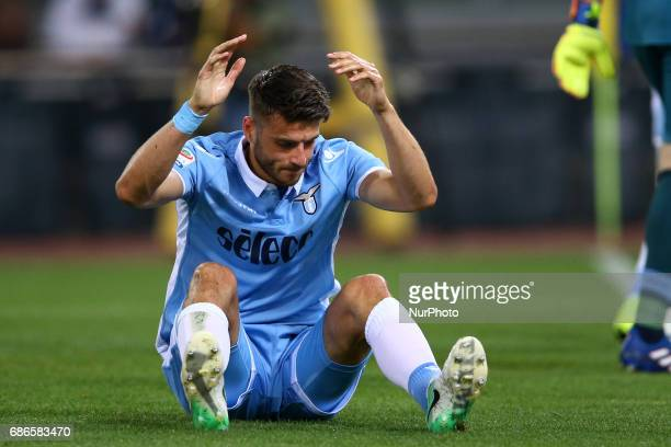 Serie A Lazio v Inter Wesley Hoed of Lazio after the owngoal scored at Olimpico Stadium in Rome Italy on May 21 2017