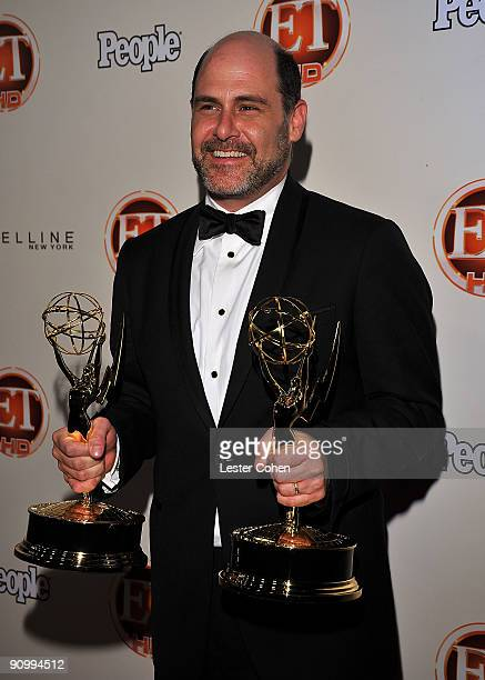 Series creator and executive producer for the AMC drama Mad Men Matthew Weiner arrives at the 13th Annual Entertainment Tonight and People Magazine...