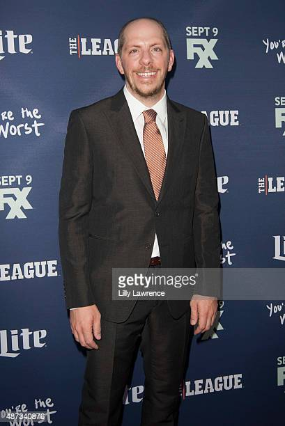 """Series Creator and Executive Producer of """"You're The Worst"""" Stephen Falk attends the premiere of FXX's """"The League"""" Final Season and """"You're The..."""
