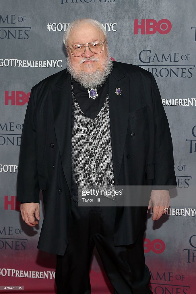 Series creator George R.R. Martin attends the 'Game Of Thrones' Season 4 premiere at Avery Fisher Hall, Lincoln Center on March 18, 2014 in New York City.