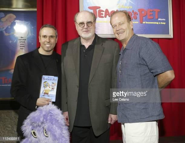 TV series creator/producer Gary Baseman David Ogden Stiers and Kelsey Grammer