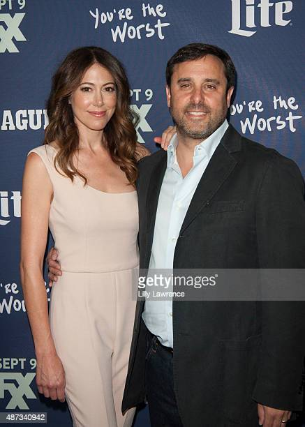 """Series Creators and Executive Producers Jackie Marcus Schaffer and Jeff Schaffer attend the premiere of FXX's """"The League"""" Final Season and """"You're..."""