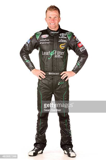 Series driver Blake Koch poses for a portrait at Daytona International Speedway on February 19 2015 in Daytona Beach Florida