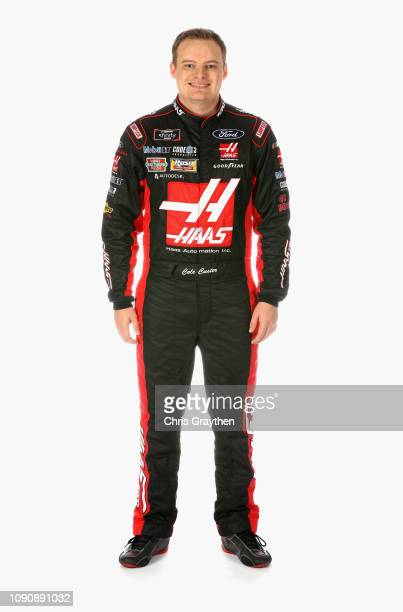 Series driver Cole Custer poses for a portrait during the NASCAR Production Photo Days at Charlotte Convention Center on January 29 2019 in Charlotte...