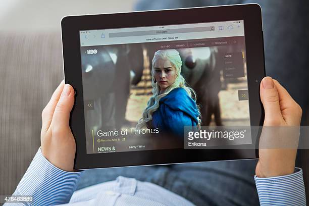 hbo series game of thrones - television show stock pictures, royalty-free photos & images