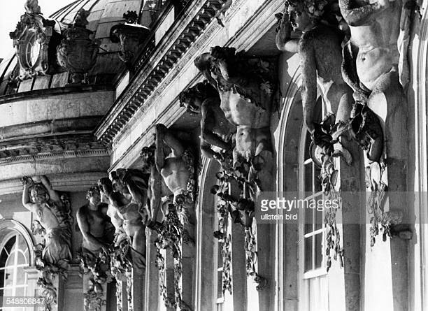 Germany Free State Prussia Brandenburg Province Potsdam View on the fasade of the City Palace Potsdam ca 1936 Photographer Heinz von Perckhammer...