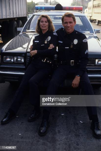 Series MacGruder and Loud actors John Getz and Kathryn Harrold pose for a portrait in 1984 in Los Angeles California