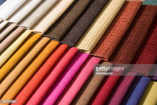 series of clothes tissue in various colors