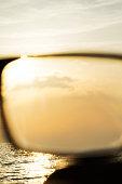 series images black rimmed glasses against