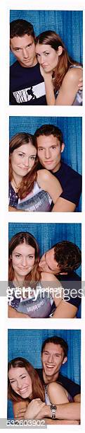 Series of Photo Booth Pictures