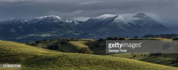 A series of rain and snow storms on the Central Coast of California have eliminated concerns about another drought on March 17 near Santa Ynez...