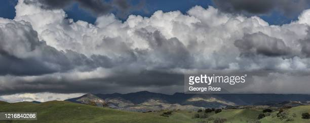 A series of rain and snow storms on the Central Coast of California have eliminated concerns about another drought on March 27 near Los Olivos...