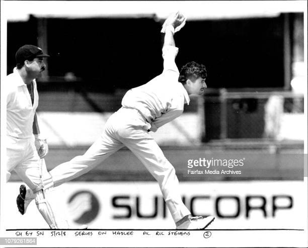 Series on HadleeRichard Hadlee is at the moment arguably the best bowler in the world the only other serious contenders for that title might be Abdul...