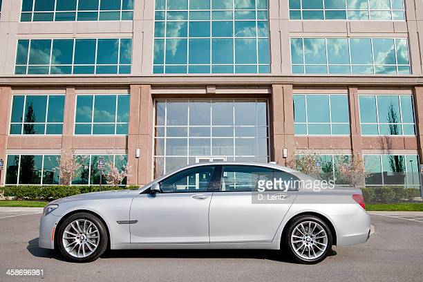 bmw 7 series - part of a series stock pictures, royalty-free photos & images