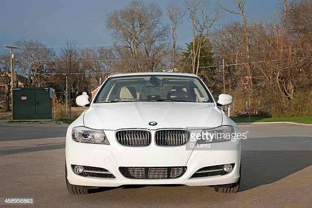bmw 3 series - three objects stock pictures, royalty-free photos & images