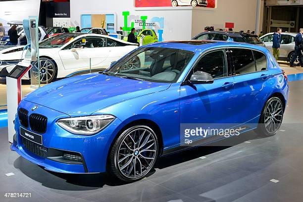 bmw 1 series - bmw stock pictures, royalty-free photos & images
