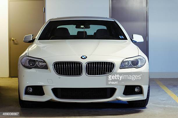 bmw 5 series sedan - bmw stock pictures, royalty-free photos & images