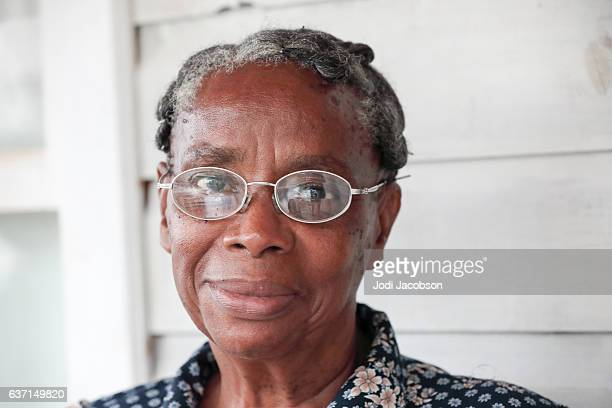 Series:Honduran senior woman wearing glasses