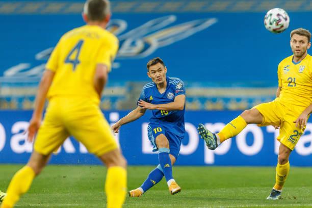 UKR: Ukraine v Kazakhstan - FIFA World Cup 2022 Qatar Qualifier