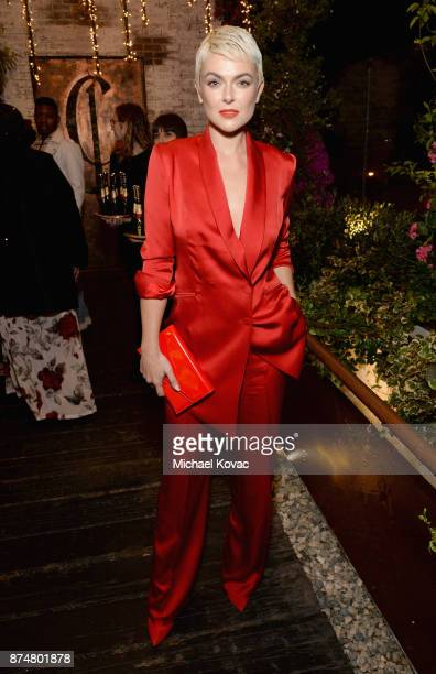 Serinda Swan at Moet Celebrates The 75th Anniversary of The Golden Globes Award Season at Catch LA on November 15 2017 in West Hollywood California