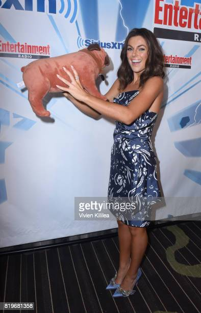 Serinda Swan attends SiriusXM's Entertainment Weekly Radio Channel Broadcasts From Comic Con 2017 at Hard Rock Hotel San Diego on July 20 2017 in San...