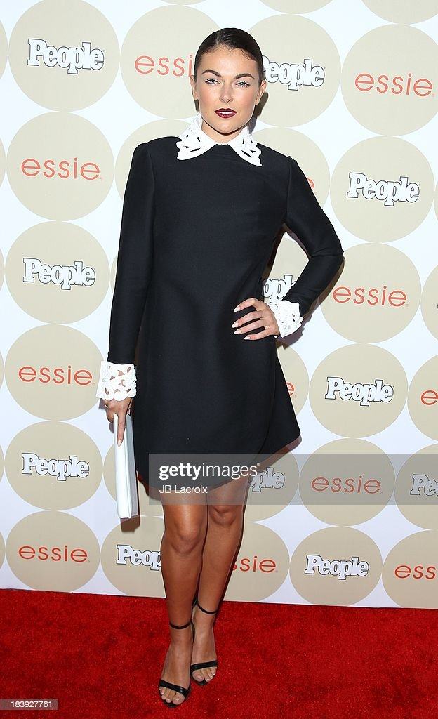 Serinda Swan attends the People's One To Watch Event held at Hinoki & The Bird on October 9, 2013 in Los Angeles, California.