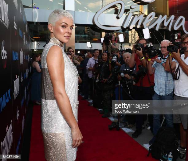 Serinda Swan attends the premiere of ABC and Marvel's 'Inhumans' at Universal CityWalk on August 28 2017 in Universal City California