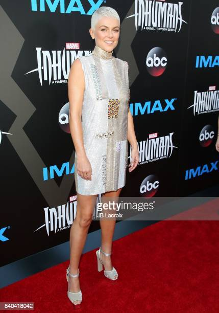 Serinda Swan attends the world premiere of 'Inhumans' at Universal CityWalk on August 28 2017 in Universal City California