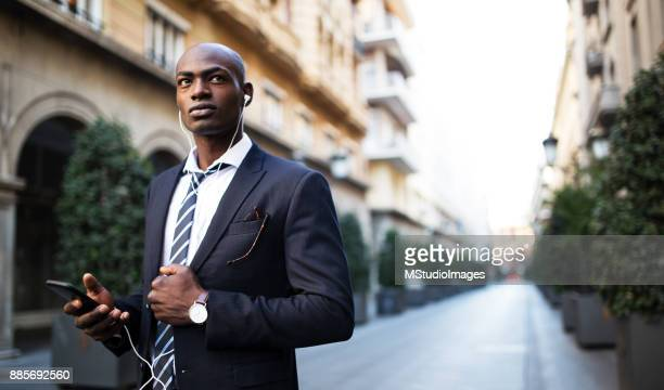 serious african businessman - nigeria stock pictures, royalty-free photos & images