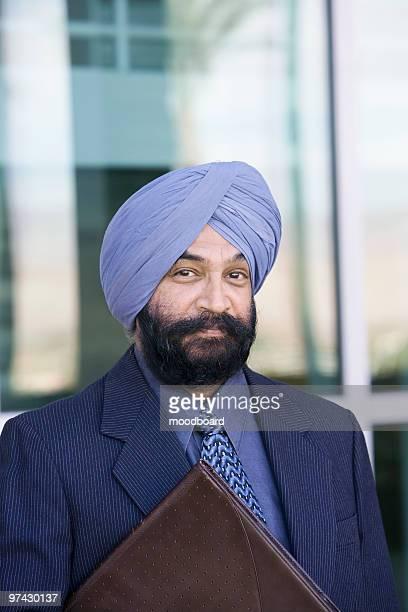 Serious Asian Businessman, portrait